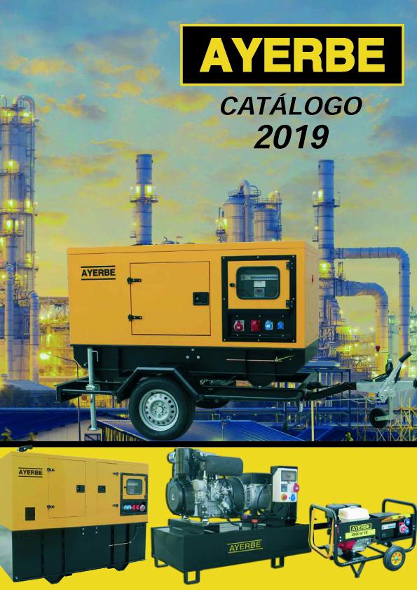 Ayerbe Industrial de Motores - Catalogo 2019