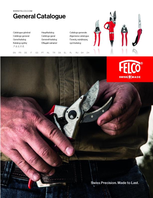 Catalogo general Felco 2108 - Herramientas de poda