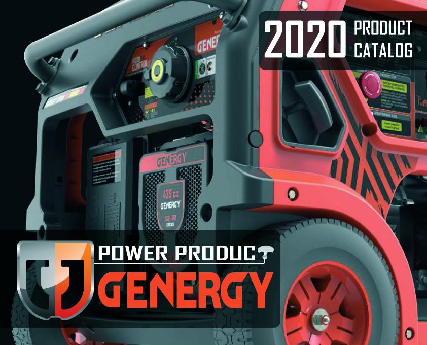 Genergy - Catalogo 2020