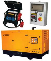 Generadores de electricidad. Grupos electr�genos