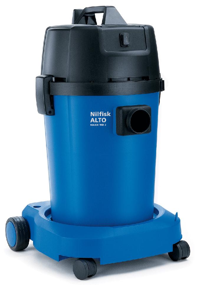 Aspiradores profesionales de agua y polvo nilfisk maxxi wd 3