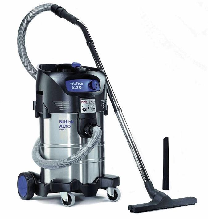 Aspiradores nilfisk agua polvo attix 40 01 pc inox - Aspiradoras de agua ...