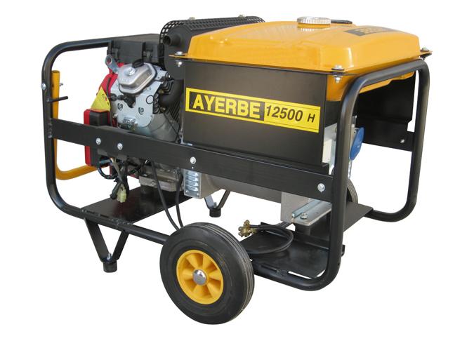 Generador ayerbe 12500 h tx trif sico con motor de gasolina - Generadores de gasolina ...