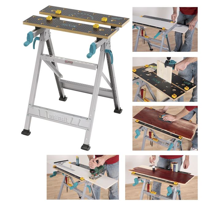 Banco de trabajo para sujeci n herramientas carpinteria for Mesa de trabajo dimensiones