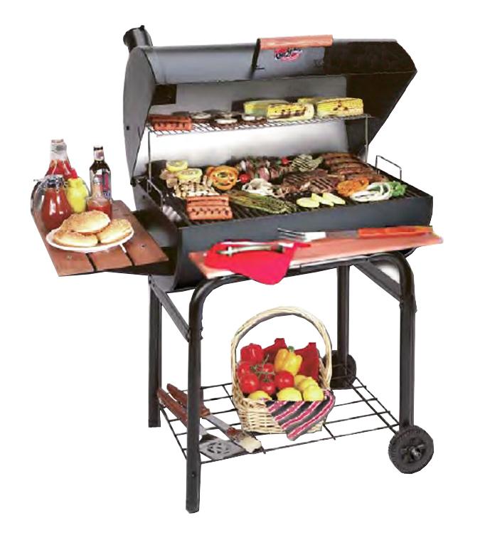 Barbacoas para parrilladas ref bar2121 char griller - Barbacoas para terrazas ...