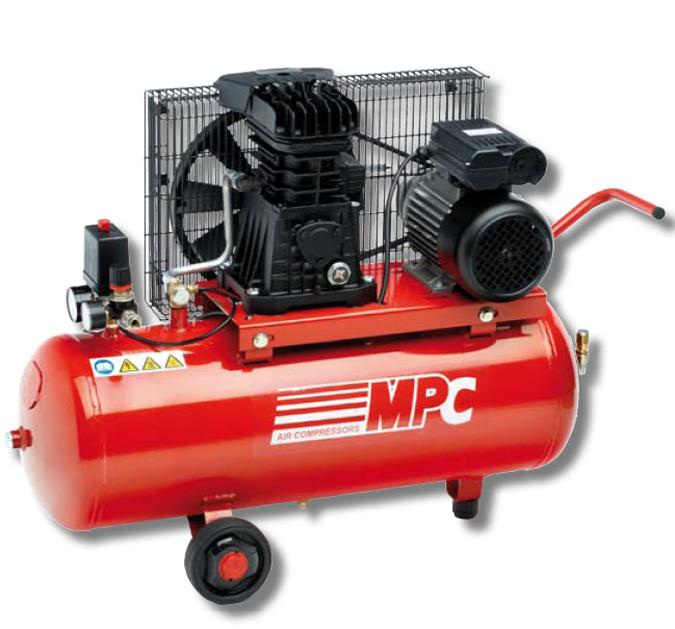 Grupo de aire comprimido bicilindrico scn 50l mpc - Precio de compresores de aire ...