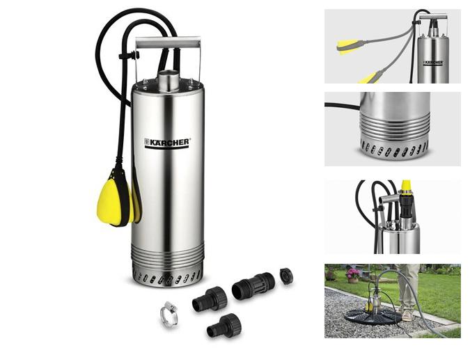 Bomba sumergible karcher bp 2 cisterna for Bombas de riego para jardin
