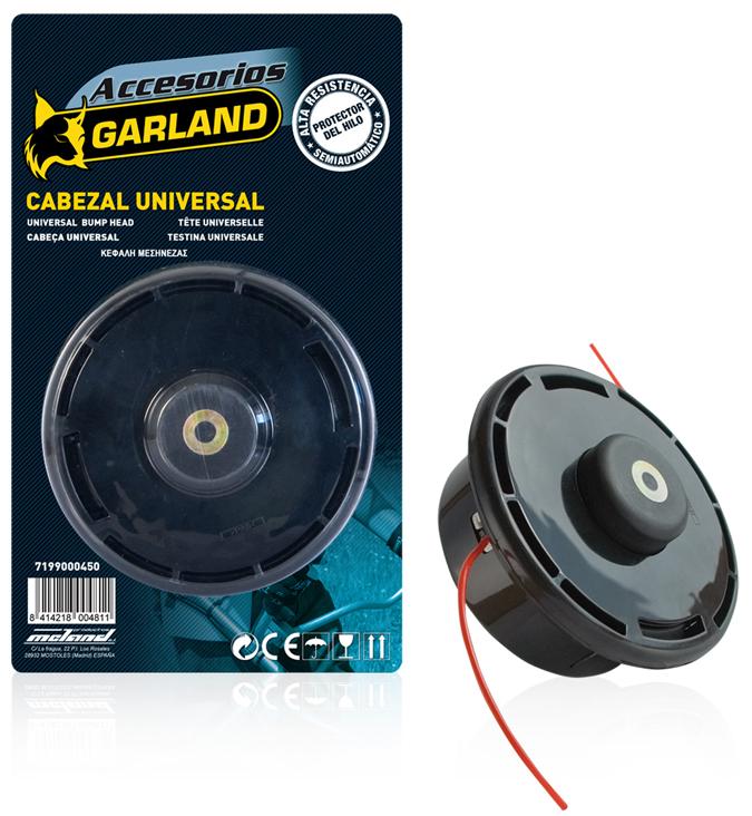 Cabezales de desbrozadora garland ref 7199000450 - Precio de desbrozadoras ...