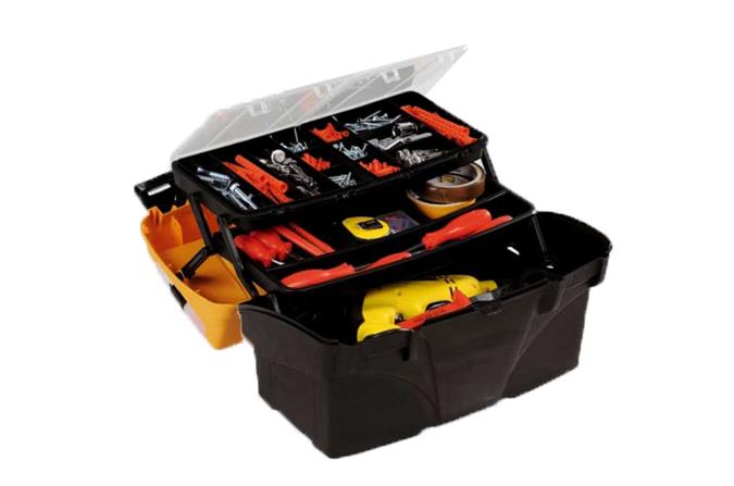 Caja de herramientas para bricolage ref pcl17 plano - Caja con herramientas ...