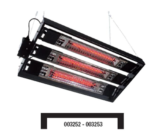 Calentador electrico por infrarrojos euritecsa 36 723 for Calentadores electricos precios