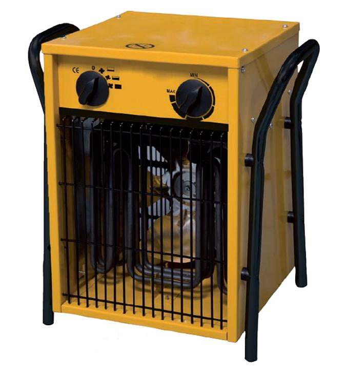 Calentadores electricos de aire industriales for Calefactores para naves industriales