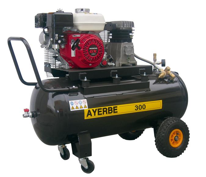 Compresor de aire ay 300 h 581090 ayerbe compresores - Precio de compresores de aire ...