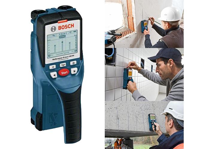 Detector d tect 150 bosch ref medici n - Detector de tuberias de agua ...