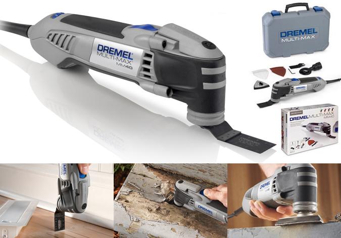 Dremel multi-max MM20, la herramienta multifución para trabajos de restauracion, carpintería, bricolaje, artesanía...