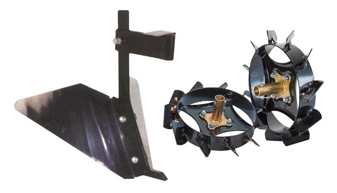 Equipos de asurcar garland ref. 7109000217 para motozadas de jardin.