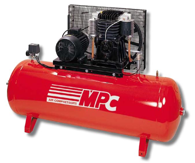 Equipo de aire comprimido bicilindrico estatico scb 500l - Compresores aire comprimido ...