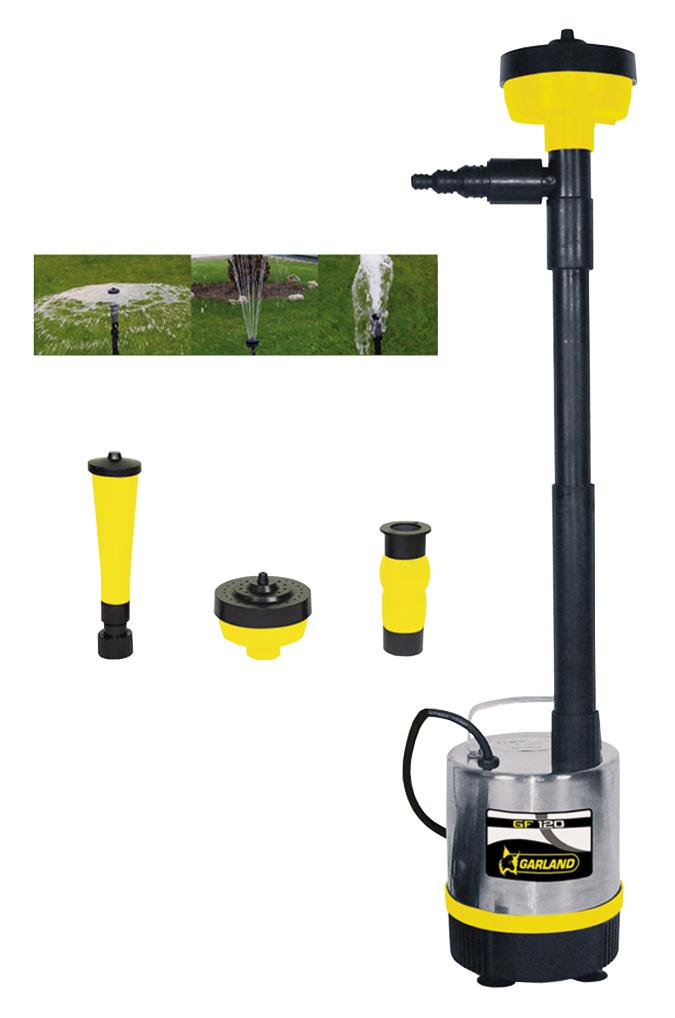 Bomba fuente electrica de agua neptun 312 e garland for Bomba de agua para fuente de jardin