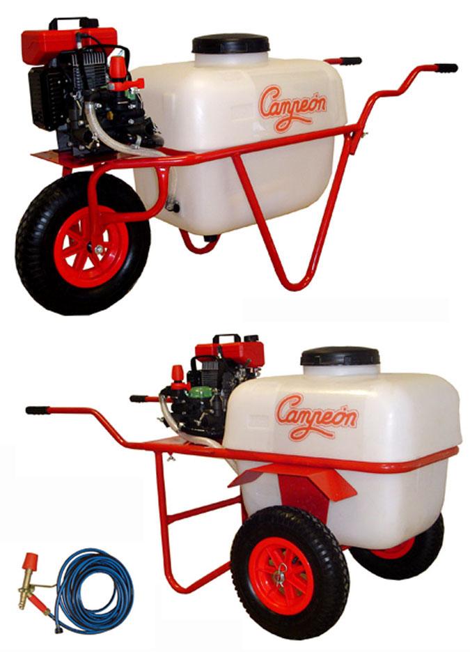 Carretas fumigadoras campeon con motor de 2 tiempos - Precios de carretillas ...