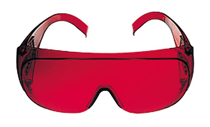 Gafas vision laser bosch profesional ref. 1.608.m00.05b para trabajos de nivelacion y alineacion.