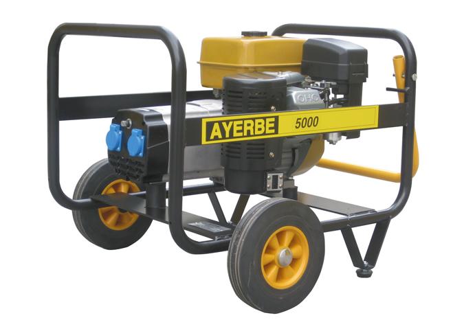 Generador ay 5000 r mn ref 5417520 5417540 ayerbe - Generador de electricidad ...