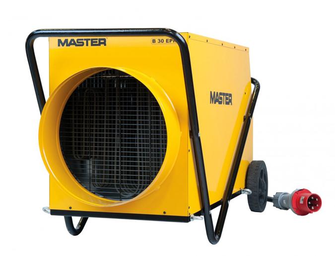 Calefactores de aire electricos industriales for Calefactores para naves industriales