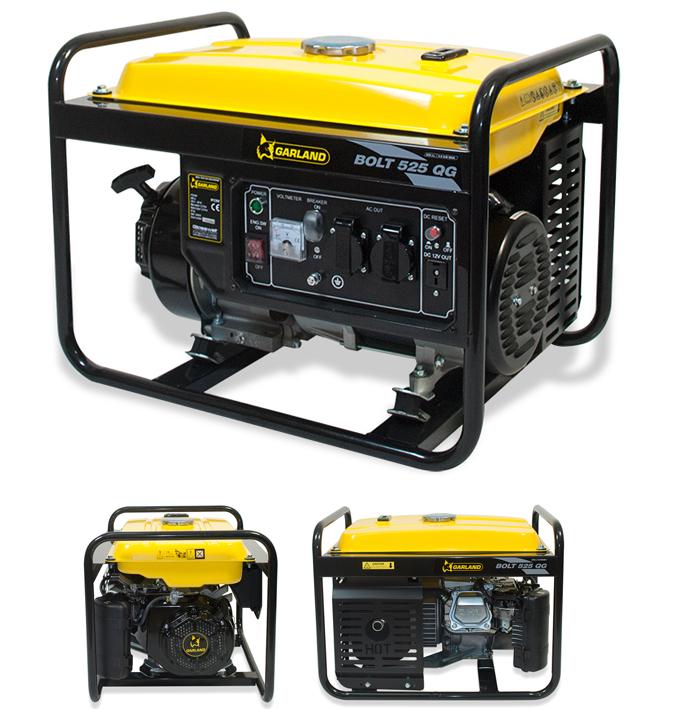 Generador de corriente electrica bolt 525 qg garland - Generador electrico precios ...