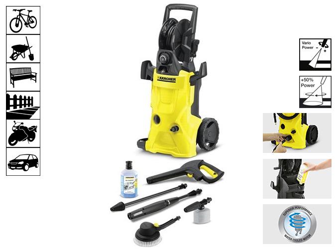 Hidrolimpiadoras karcher k4 premium car limpieza - Hidrolimpiadoras karcher precios ...