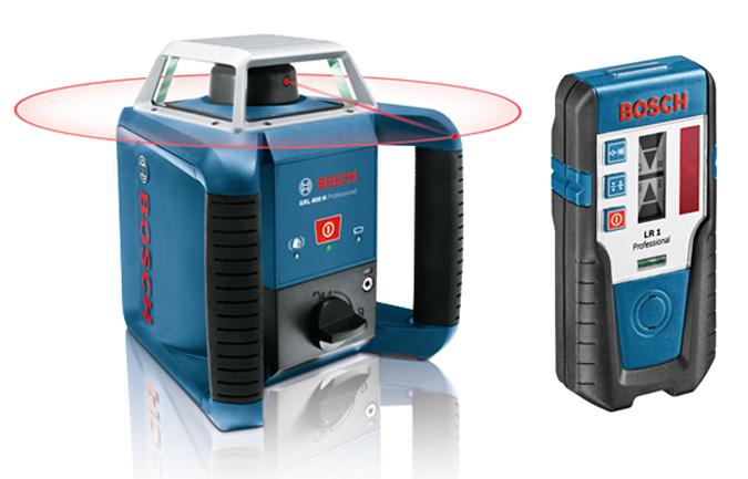 Nivel autonivelante horizontal bosch grl400h lr1 ref 0 - Nivel laser precios ...
