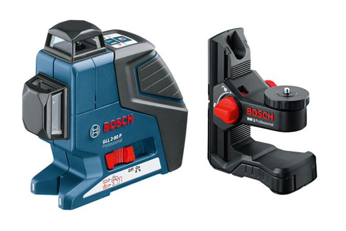 Nivel autonivelante bosch gll 2 80 p ref - Nivel con laser ...
