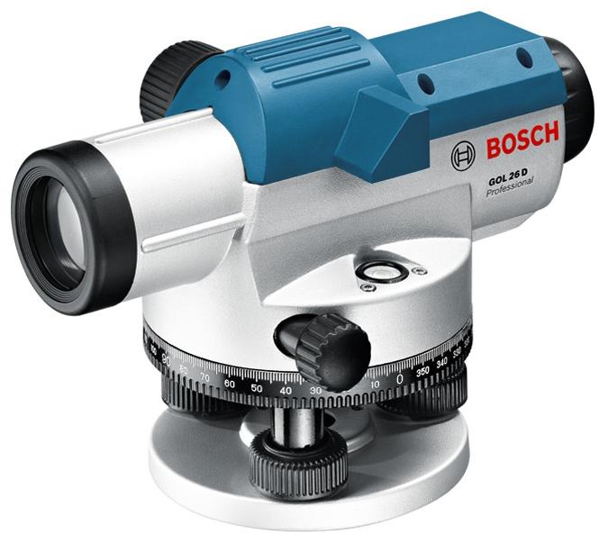 Nivel óptico GOL 26 D Ref. 0.601.068.000 bosch para la medición y alineación en exteriores.