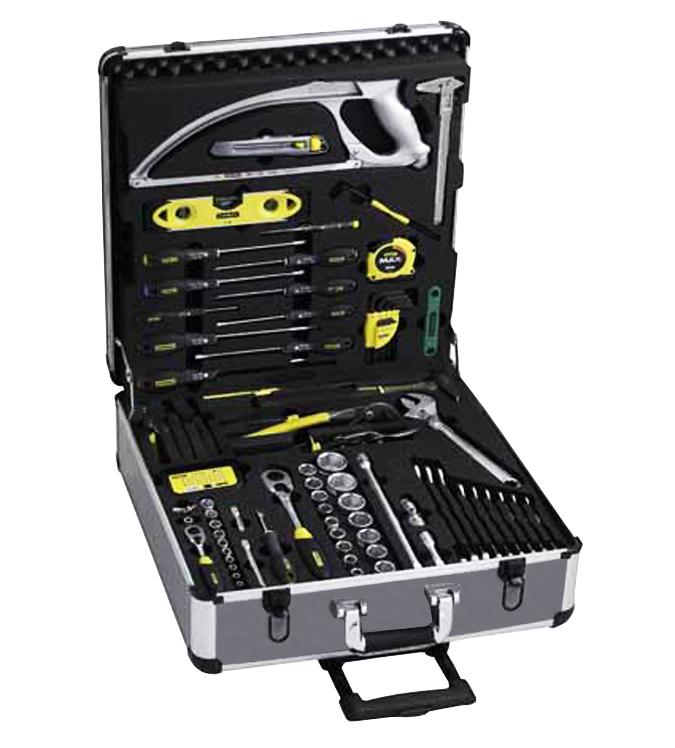 Maletas portaherramientas con 120 piezas 6 97 597 stanley - Maletin de aluminio para herramientas ...