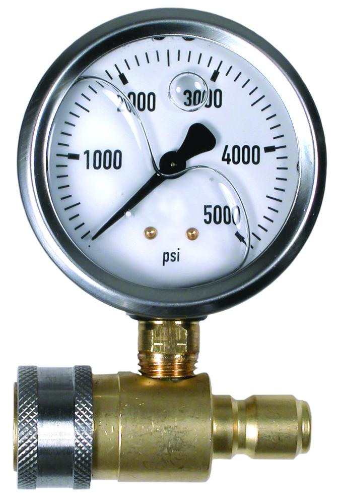 Manometro de presion de genergy para hidrolimpiadoras for Manometro para medir presion de agua
