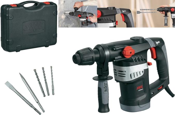Martillo perforador skil 1766ak martillos combinados - Martillo cincelador electrico ...