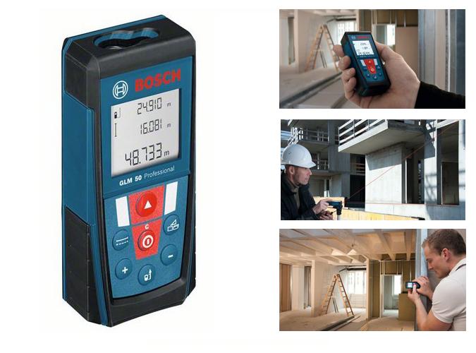 Medidor de distancias laser bosch glm 50 herramientas de - Medidor laser bosch ...