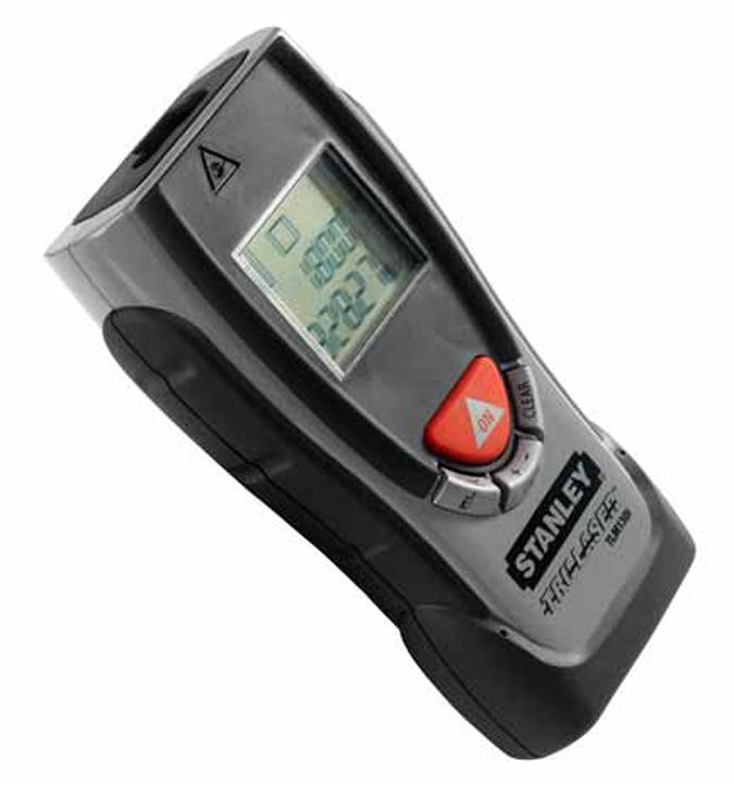 Medidor laser de distancias tlm 130i de stanley - Medidor distancias laser ...