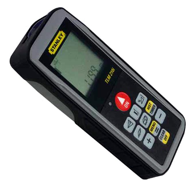 Medidor laser de distancias tlm 210i de stanley for Medidor de distancia laser