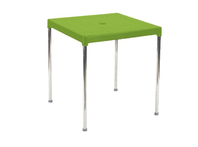 Mesa aluminio resina ref 4026 mobiliario jardin mesas for Mobiliario jardin resina