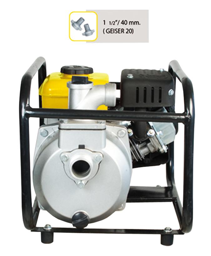 Motobomba con motor de gasolina garland geiser 401 q for Motobombas de gasolina