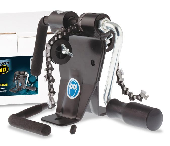 Remachadora de cadenas garland ref. 7199236403 para cadenas de motosierra.