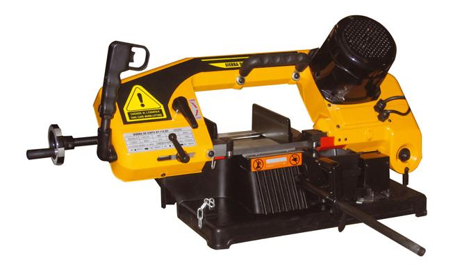 Maquina de cortar hierro de cinta