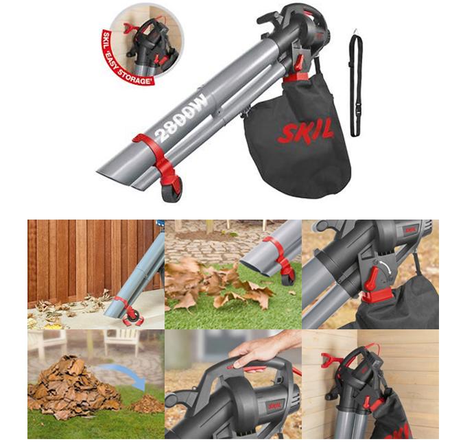 Soplador electrico de jardin para hojas skil 0792aa for Aspiradora de hojas de jardin