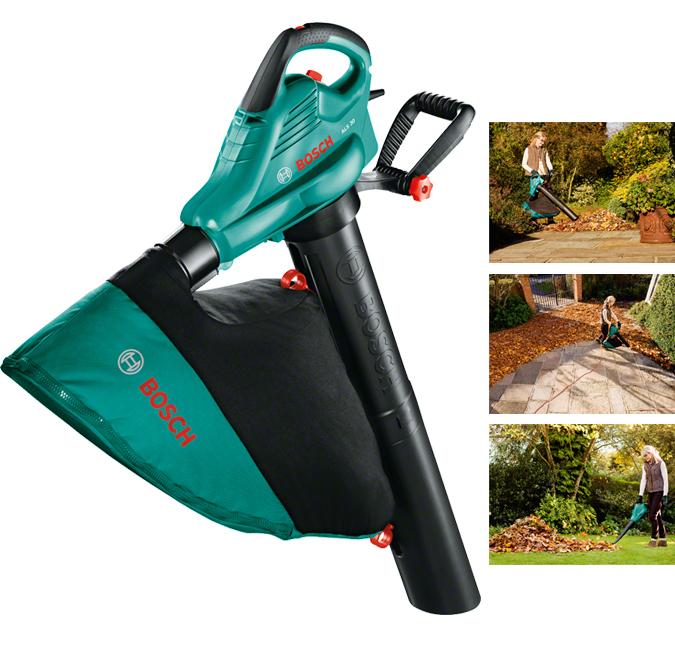 Aspirador y soplador de jardin bosch als 30 06008a1100 - Soplador de hojas electrico ...