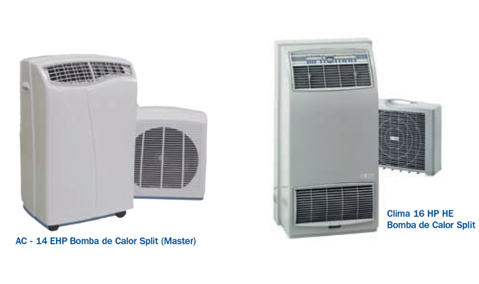 Aire acondicionado split portatil bomba de calor for Aparatos de aire acondicionado con bomba de calor