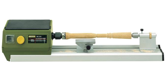 Torno de girar madera miniatura de proxxon db 250