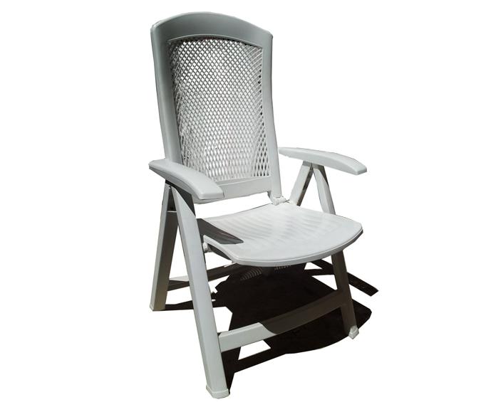 Sillon multiposiciones plegable canasta mobiliario de jardin for Mobiliario jardin plastico