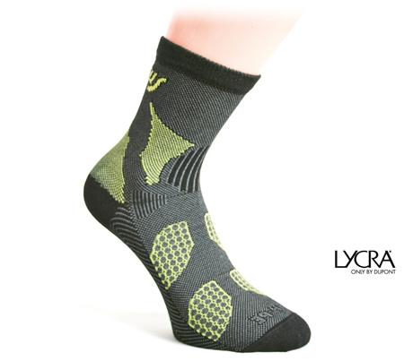 calcetín de lycra sintética y elástico