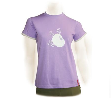 camiseta transpirable de secado rápido