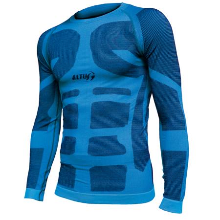 camiseta termica interior unisex de Altus color azul