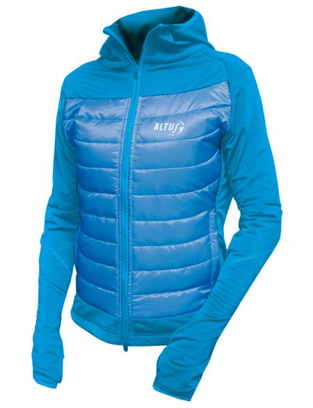 chaquetas tecnicas thermolite para montañeros de altus modelo Piooner lady
