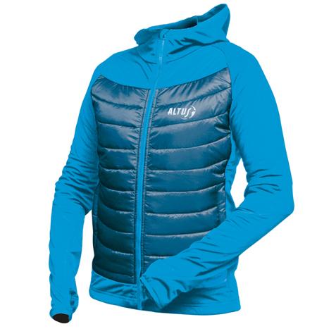 chaquetas tecnicas thermolite para montañeros de altus modelo Piooner